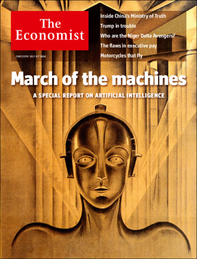 The Economist: March Of The Machines - 26
