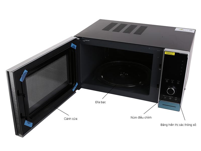 Lò Vi Sóng Có Nướng Electrolux EMS3087X - 30L (Đen)