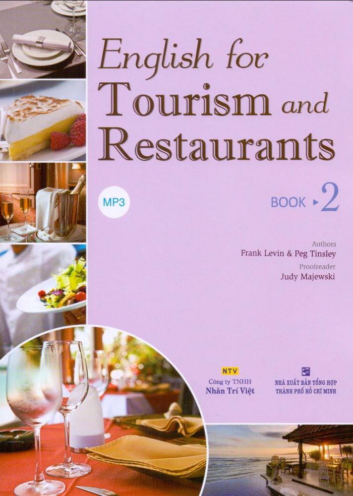 Khuyên đọc sách English For Tourism And Restaurants - Book 2 (Kèm Đĩa MP3)