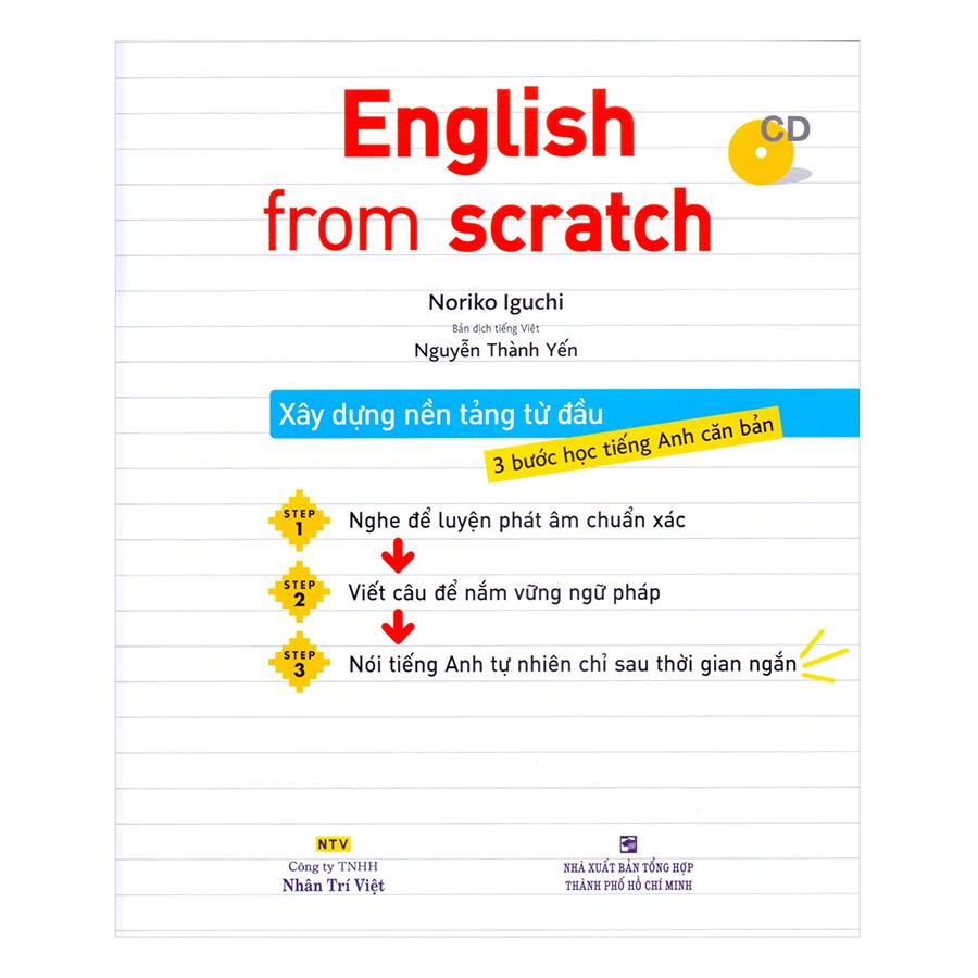 English From Scratch (Kèm CD)