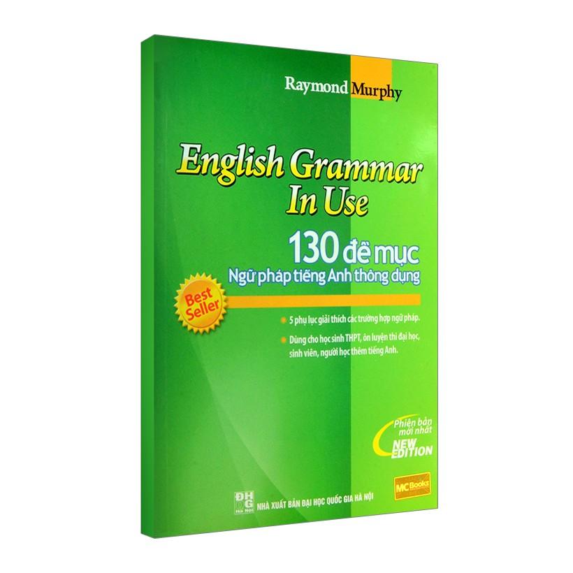 130 Đề Mục Ngữ Pháp Tiếng Anh Thông Dụng (Tái Bản)