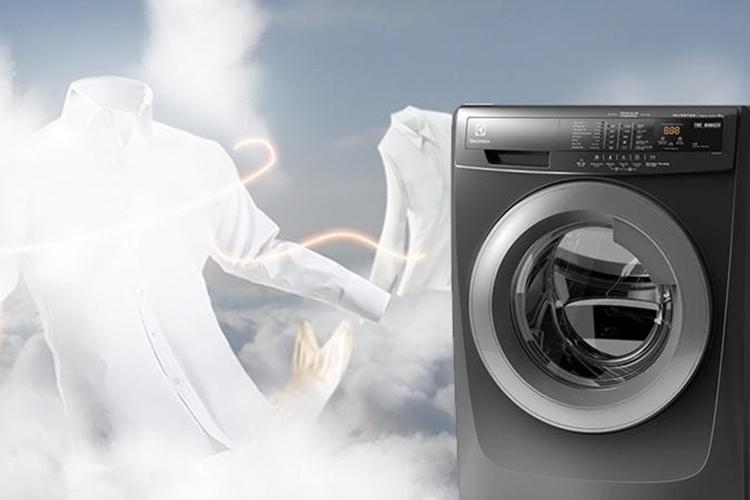 Máy Giặt Cửa Trước Inverter Electrolux EWF12844S - 8Kg (Đen)