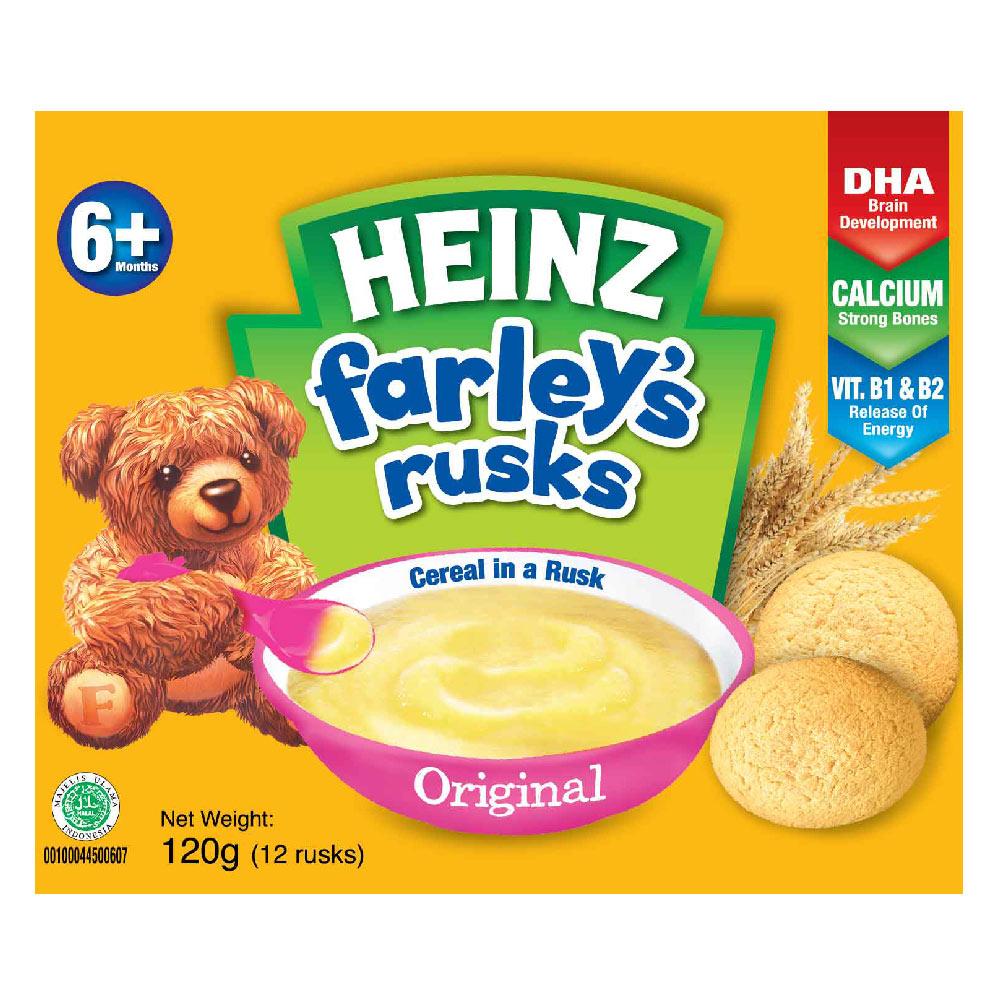 Bánh Qui Dành Cho Trẻ Em Farley Heinz Vị Truyền Thống 120g