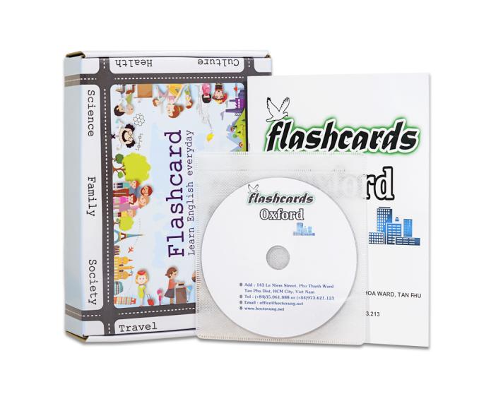 Flashcard 3240 Từ Vựng Hay Được Kiểm Tra Trong Bài Thi Toiec Kèm DVD Và Sách Hướng Dẫn (FD08)