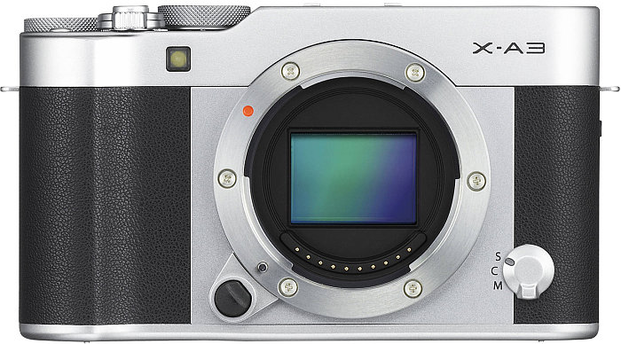 Fujifilm X-A3 Cảm biến CMOS với độ phân giải 24MP