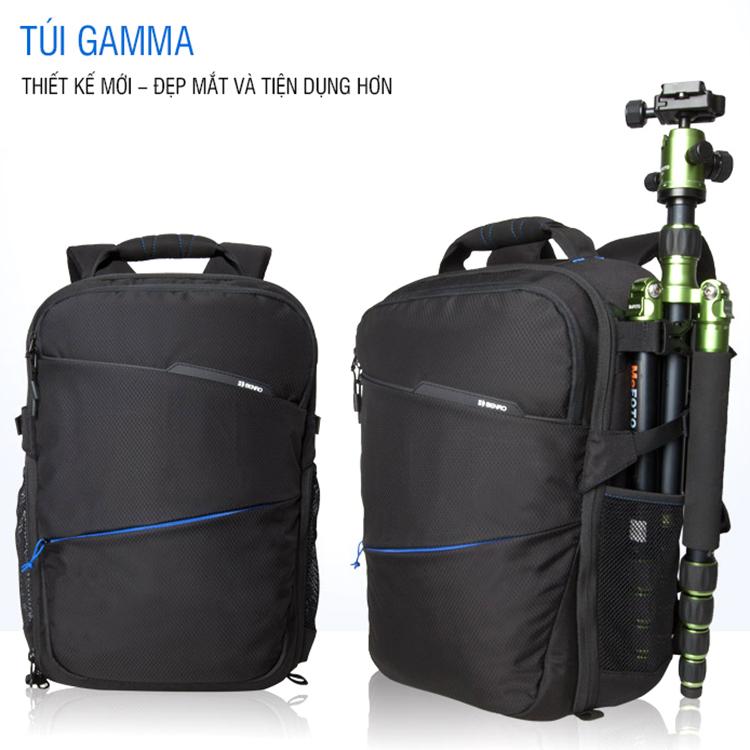 Balo Máy Ảnh Benro Gamma 100 (S) - Đen
