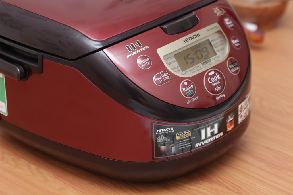 Nồi Cơm Điện Tử Hitachi RZ-GHE18Y - 1.8L (Đỏ)