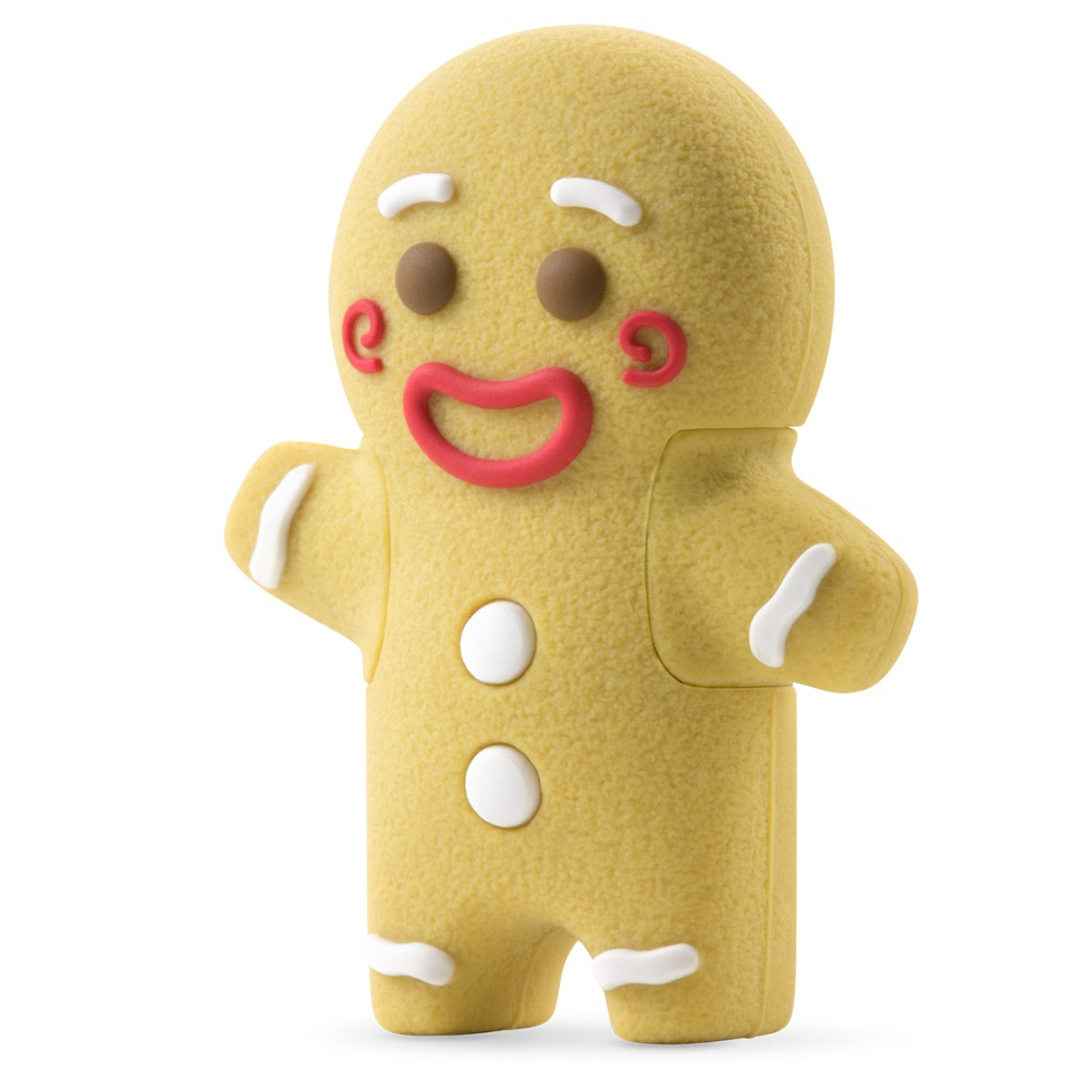 USB Bone Gingerman 8GB - USB 2.0