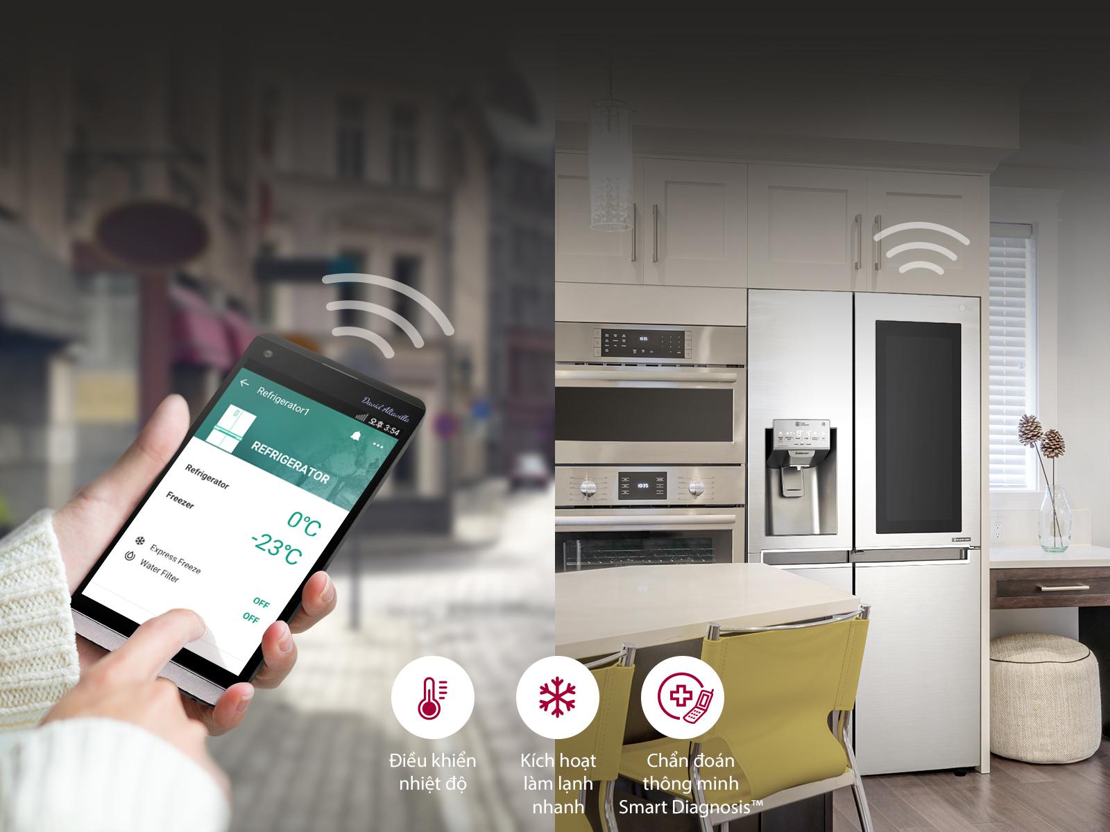 Tủ Lạnh Instaview Door In Door LG GR-X247JS (601L)