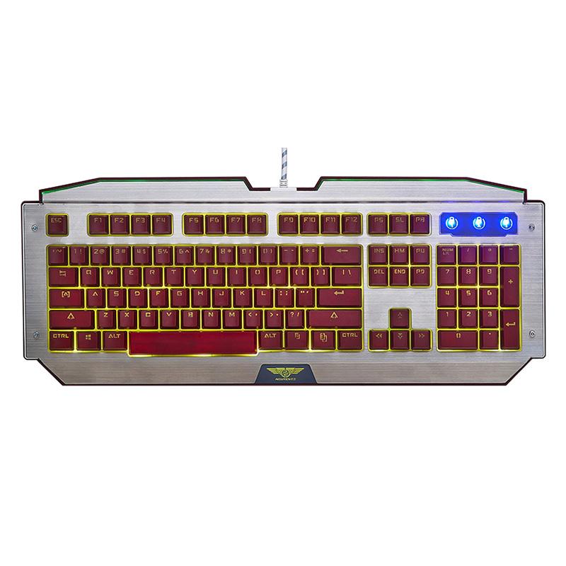 Bàn Phím Game Có Dây Newmen GM100s LED Membrane Full-size - Hàng Chính Hãng