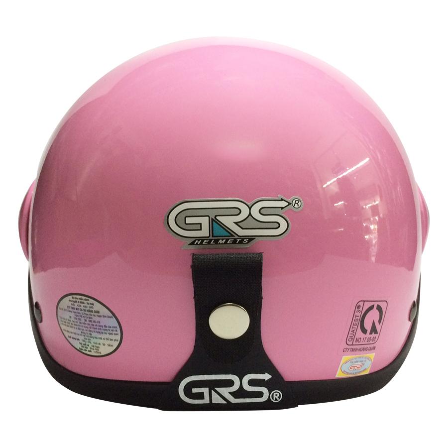 Mũ Bảo Hiểm GRS A33K - Hồng Bóng
