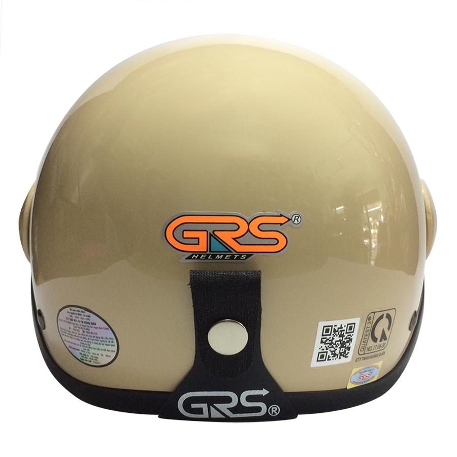 Mũ Bảo Hiểm GRS A33K - Sữa Bóng