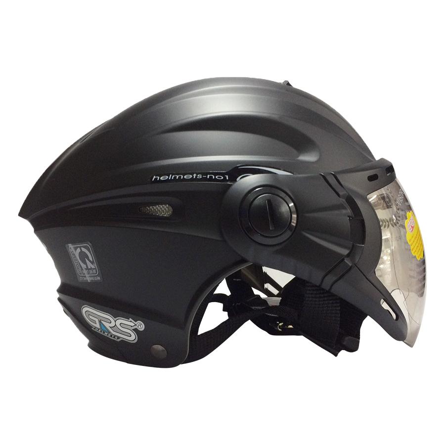 Mũ Bảo Hiểm GRS A737K - Đen Nhám