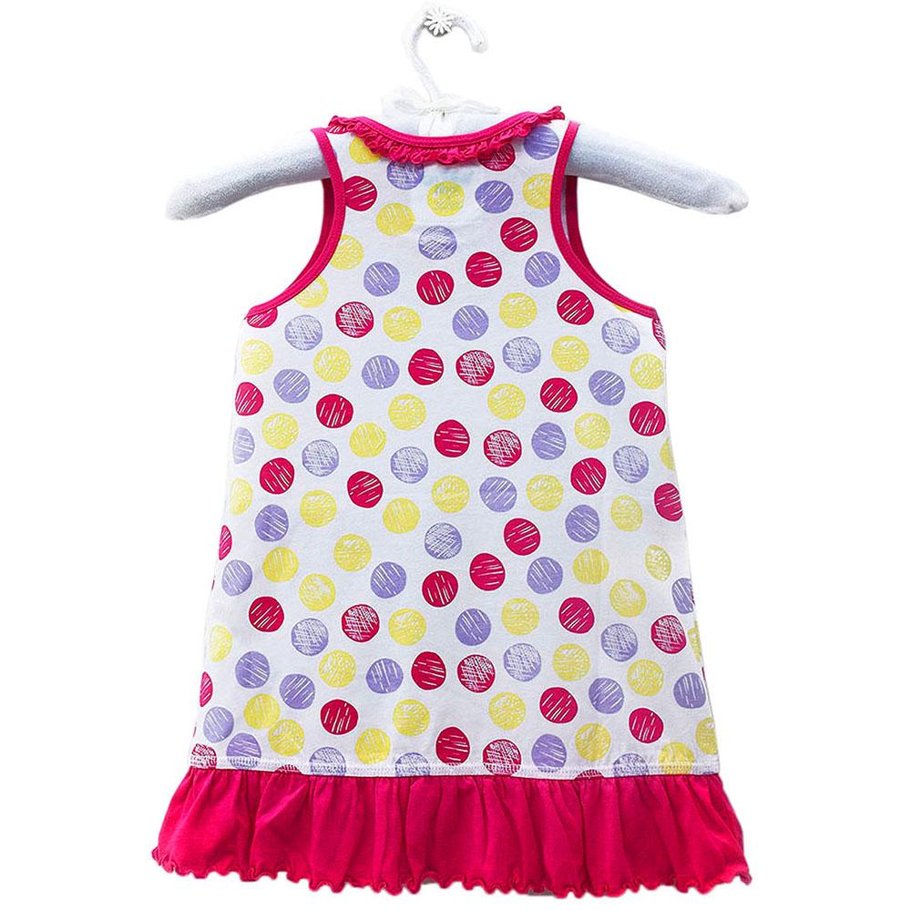 Đầm Thun Hai Dây Bé Gái Kavio GS08-N1 Kids - Hồng Cam