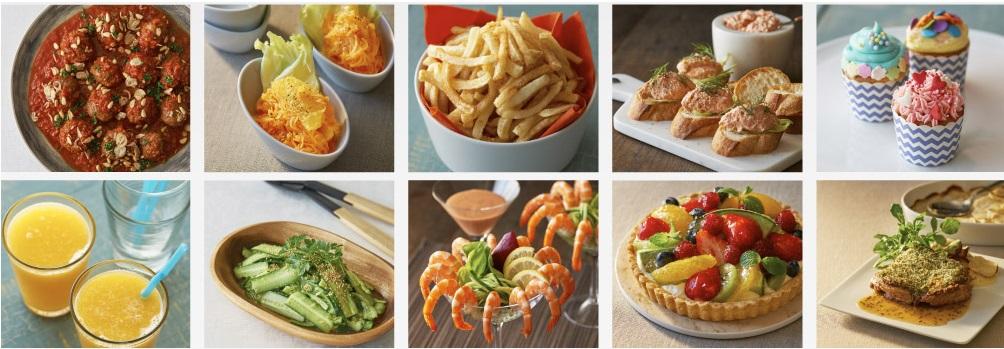 Nhiều công thức nấu ăn đa dạng