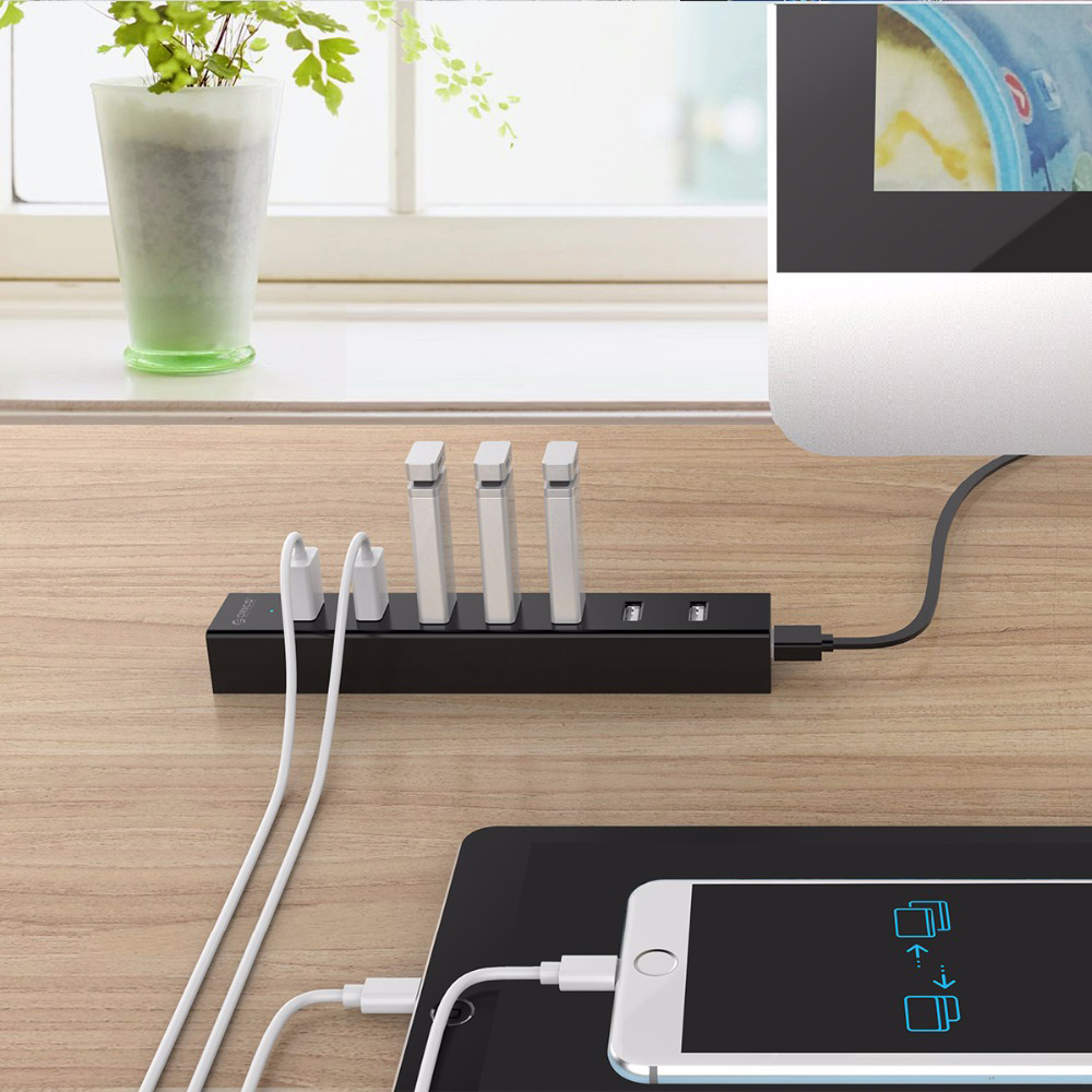 Hub USB 2.0 Orico 7 Cổng H7013-U2-10