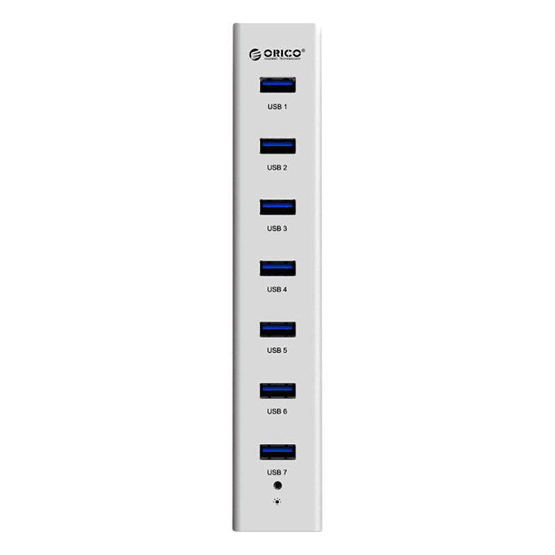Hub USB 3.0 Orico 7 Cổng H7013-U3-AD - Hàng Chính Hãng