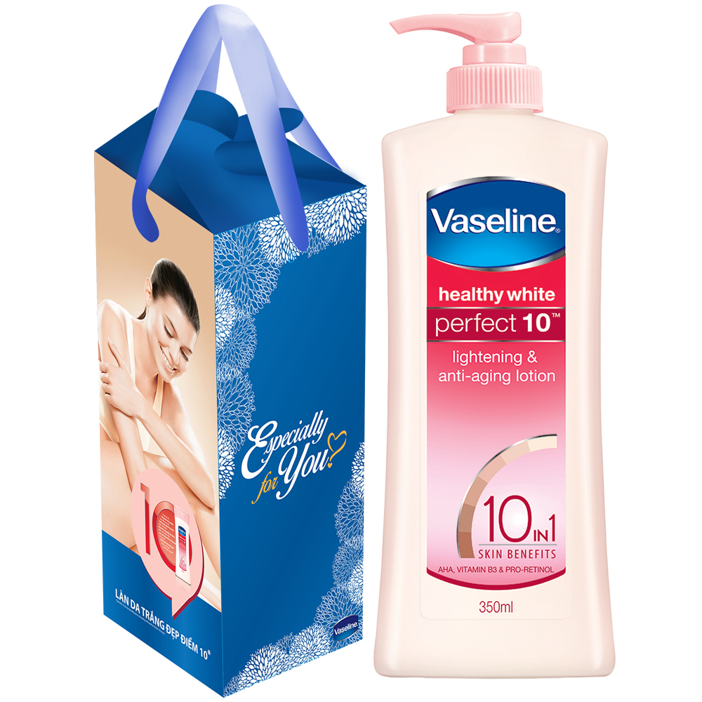 Sữa Dưỡng Thể Vaseline Perfect 10 Trong 1 (350ml) - 32015363