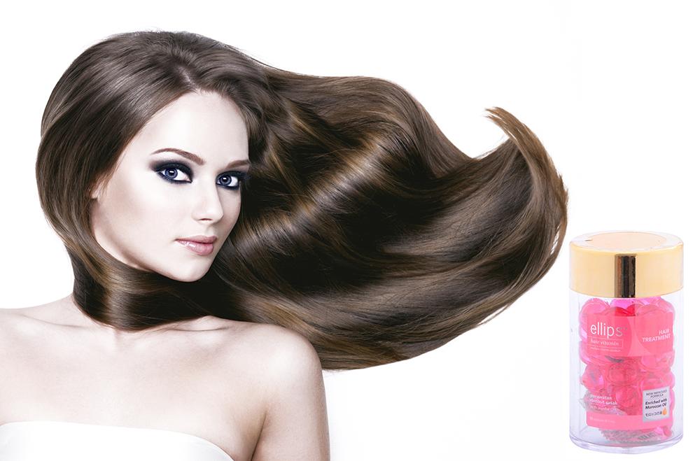 Vỉ 6 Viên Serum Vitamin Dưỡng Tóc Phục Hồi Hư Tổn Ellips Hair Treatment -100707073