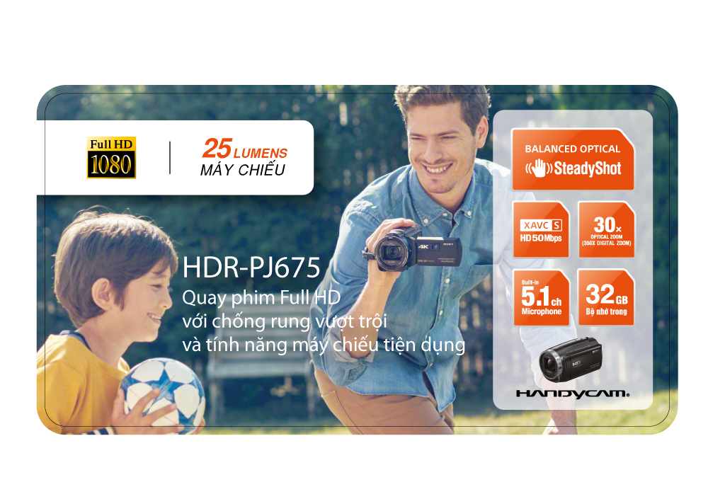 Máy Quay Phim KTS Sony HDR - PJ675E (HDR-PJ675E)