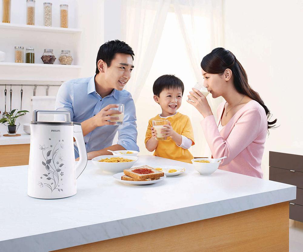 Máy Làm Sữa Đậu Nành Philips HD2072 – 1.3 Lít