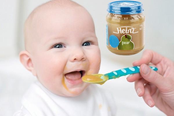 Trái Cây Lê Nghiền Heinz (110g) - Cho Bé Từ 4 -  6 Tháng