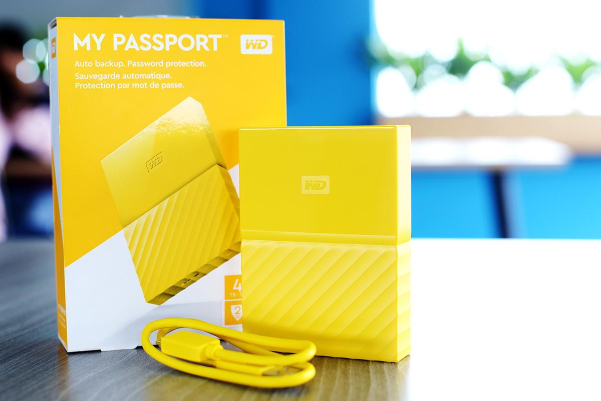 Ổ Cứng Di Động WD My Passport 4TB (ver 2017)