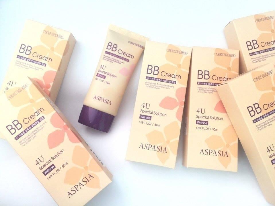 Kem Nền Aspasia 4U Special B.B Solution Cream SPF50 PA+++ (50ml) 3