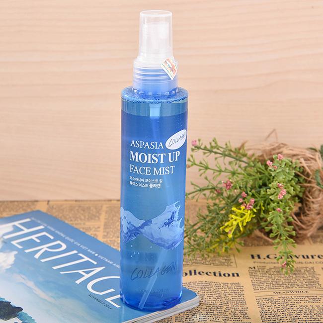 Xịt Khoáng Tinh Chất Collagen Aspasia Moist Up Face Mist Collagen (150ml)