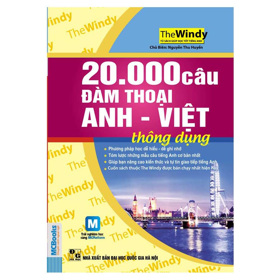 20.000 Câu Đàm Thoại Anh - Việt Thông Dụng (Dùng Kèm App MCBooks)