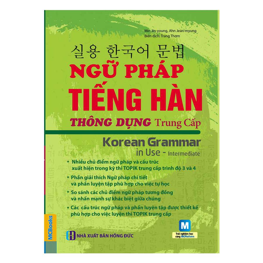 Ngữ Pháp Tiếng Hàn Thông Dụng Trung Cấp (Kèm CD Hoặc Dùng App) - 5761891765885,62_7250863,200000,tiki.vn,Ngu-Phap-Tieng-Han-Thong-Dung-Trung-Cap-Kem-CD-Hoac-Dung-App-62_7250863,Ngữ Pháp Tiếng Hàn Thông Dụng Trung Cấp (Kèm CD Hoặc Dùng App)