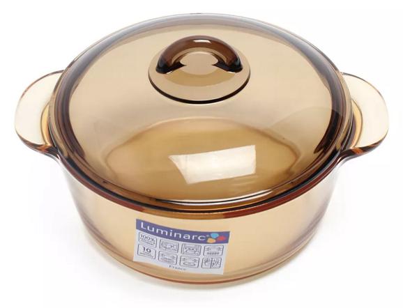 Nồi Thủy Tinh Luminarc Amberline C6008 – 2 Lít