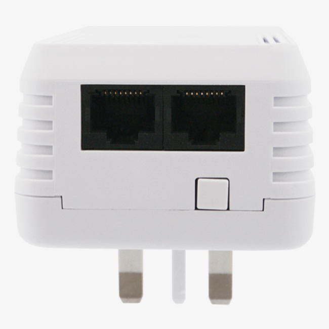 Aztech HL113EW - Bộ Truyền Mạng Qua Đường Dây Điện Tốc Độ 200Mbps Hỗ Trợ Wifi