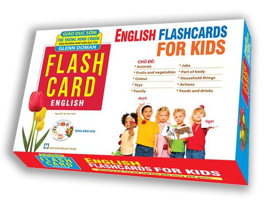 Flashcard Dạy Trẻ Theo Phương Pháp Glenn Doman - Tiếng Anh Cho Bé