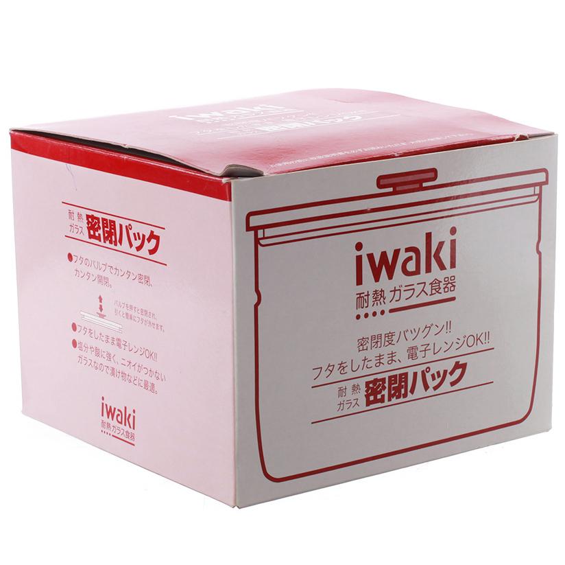 Hộp Thủy Tinh Tròn Iwaki - KT7001MP-R - 550Ml