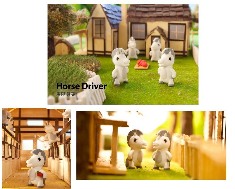 USB Bone 16GB Horse - DR15111-16W