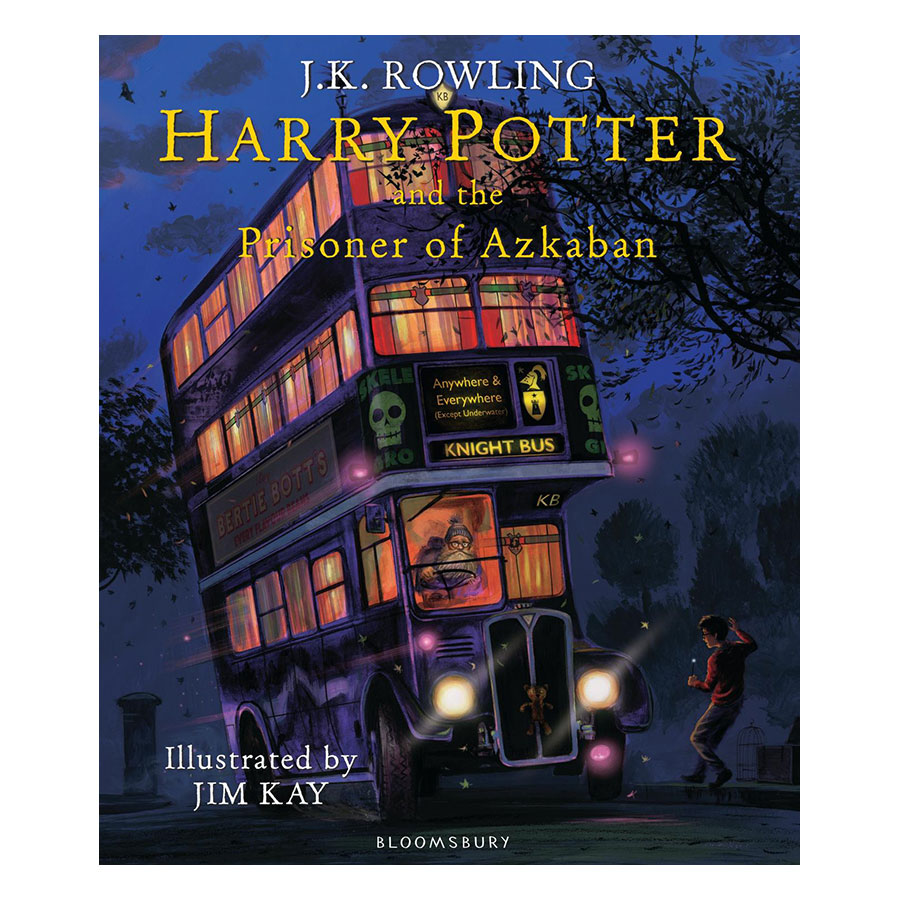 Harry Potter Part 3: Harry Potter And The Prisoner Of Azkaban (Hardback) - Illustrated Edition