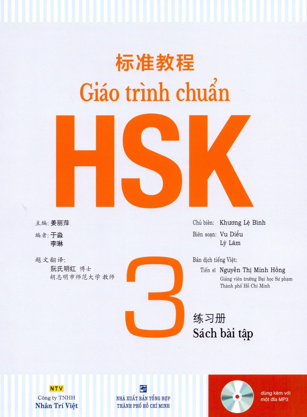 Giáo Trình Chuẩn HKS 3 - Bài Tập (Kèm file MP3)