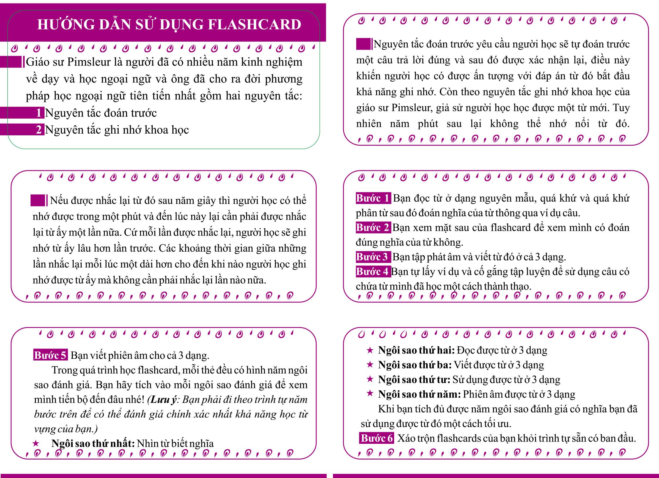 Flashcard 360 Động Từ Bất Quy Tắc Trong Tiếng Anh