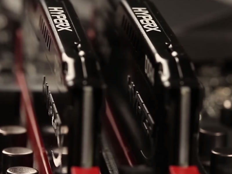 RAM Kingston 32GB 2400MHz DDR4 CL15 DIMM (Kit of 2) HyperX Fury Black - HX424C15FBK2/32