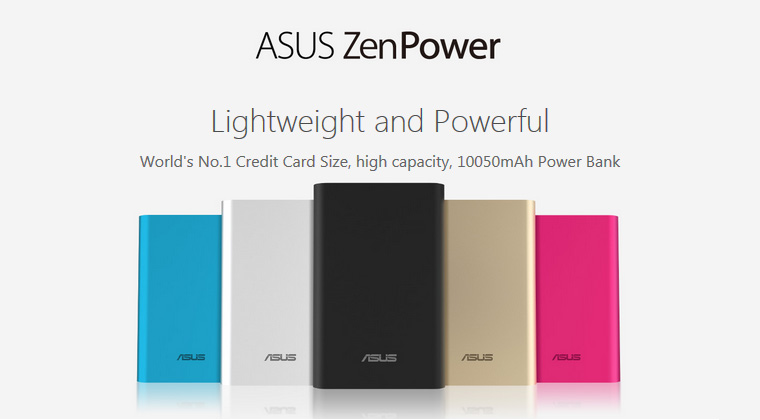 Pin Sạc Dự Phòng  Asus ABTU005 ZEN POWER - 10050mAh