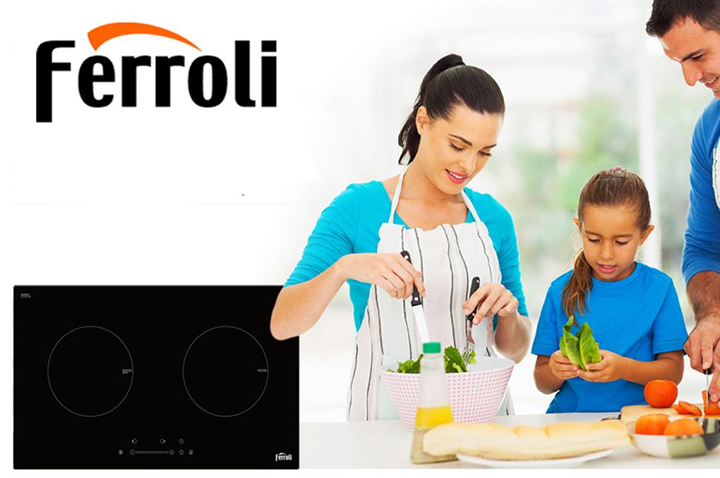 Bếp Điện Từ Đôi Ferroli ID4000BS