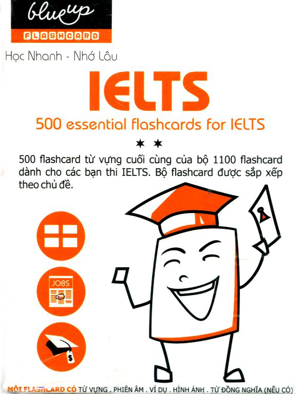 Hộp Blueup IELTS 500 Essential Flashcards For IELTS - Phần 2