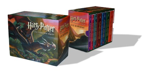 Harry Potter - Paperback Boxed Set : Books 1 - 7 (Scholastic US Version) (English Book)