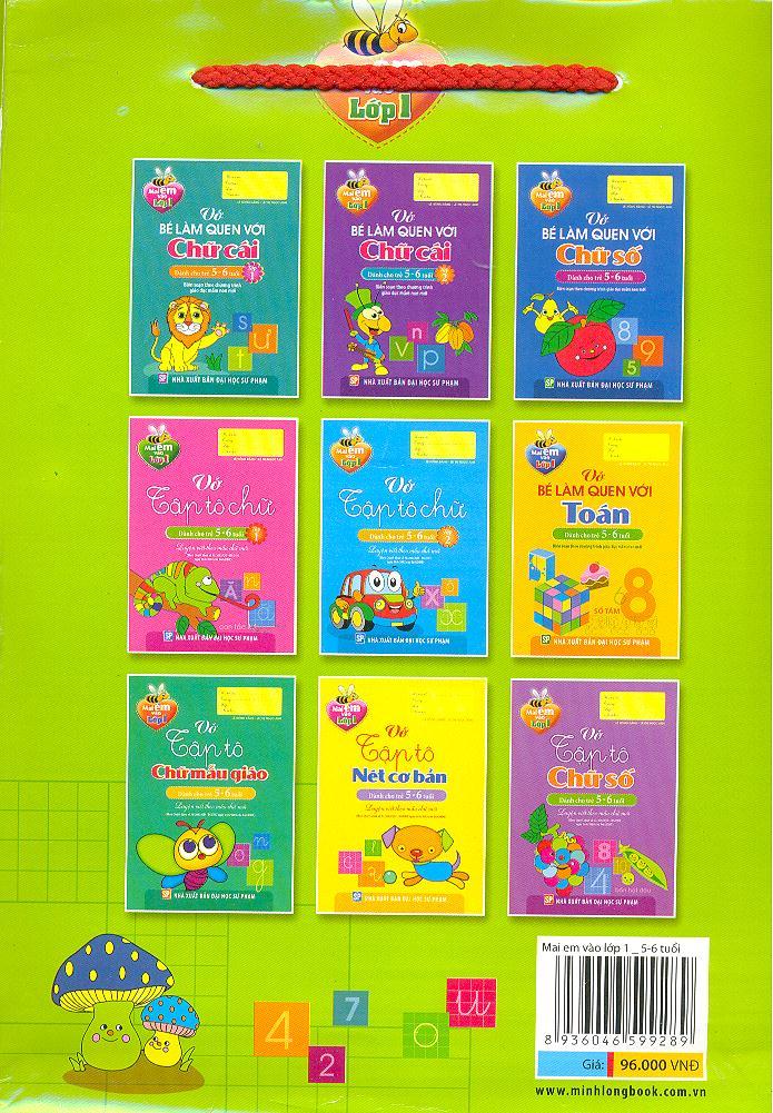 Mai Em Vào Lớp Một - Dành Cho Trẻ 5-6 Tuổi (Bộ 9 Cuốn)
