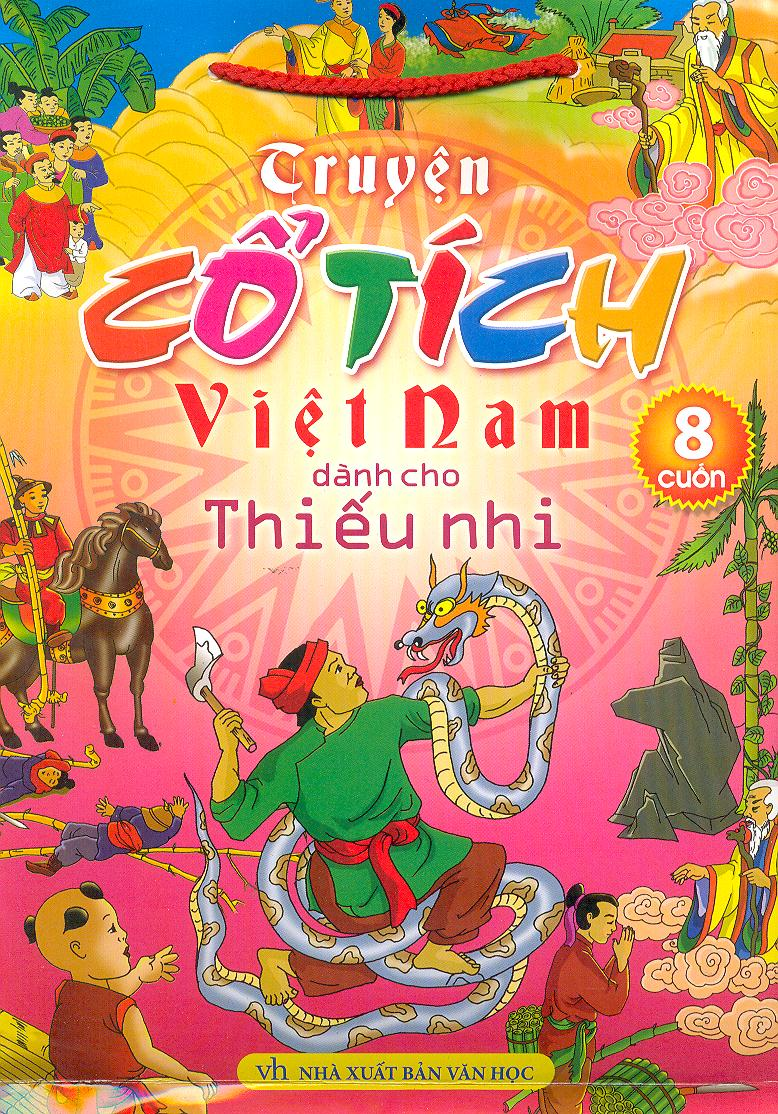Truyện Cổ Tích Việt Nam Dành Cho Thiếu Nhi (Bộ 8 Cuốn)