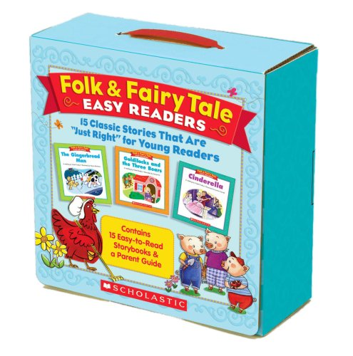 """Folk and Fairy Tale Easy Readers Parent Pack : 15 Classic Stories That Are """"Just Right"""" for Young Readers"""