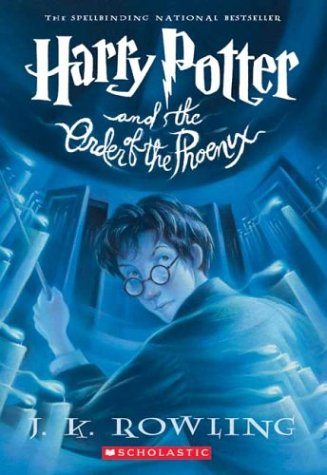 Harry Potter Part 5: Harry Potter And The Order Of The Phoenix (Paperback) - Original Series