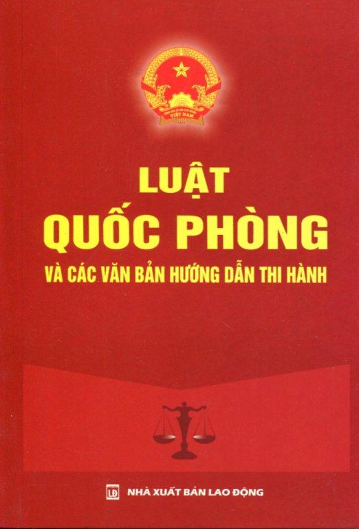 Luật Quốc Phòng Và Các Văn Bản Hướng Dẫn Thi Hành - 8976543265423,62_133949,25000,tiki.vn,Luat-Quoc-Phong-Va-Cac-Van-Ban-Huong-Dan-Thi-Hanh-62_133949,Luật Quốc Phòng Và Các Văn Bản Hướng Dẫn Thi Hành