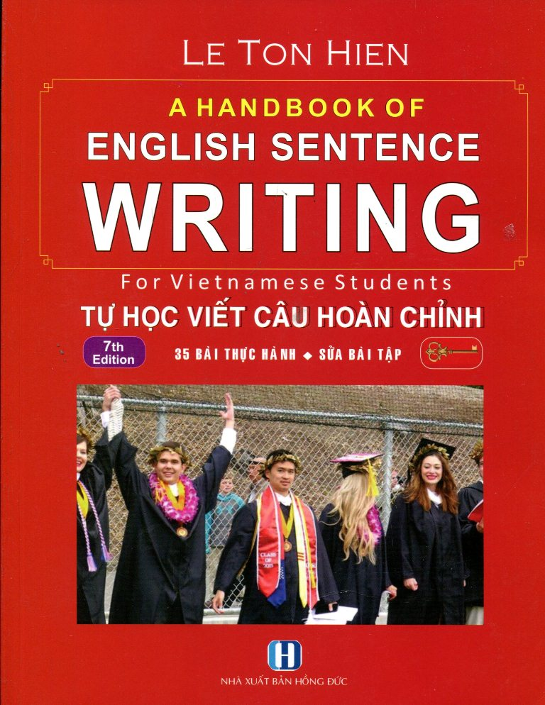 A Handbook Of English Sentence Writing - Tự Học Viết Câu Hoàn Chỉnh